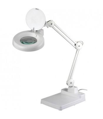 Lampa biurkowa z lupą...