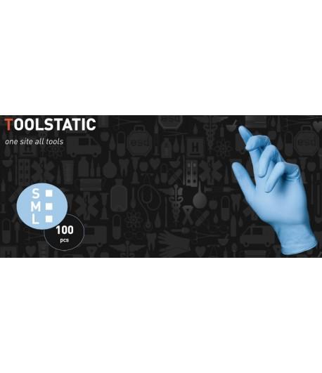 Rękawiczki Antystatyczne Nitrylowe
