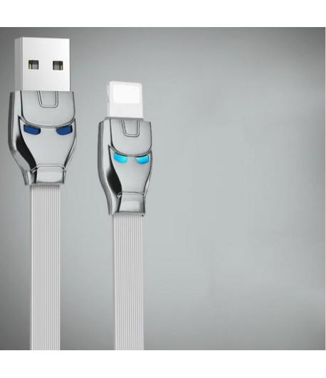Kabel HOCO USB - IPhone Lightning - Srebrny